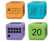 16 Zahlendarstellungs-Würfel, 5-7 Jahre