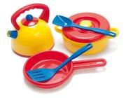 dantoy Sandspielzeug, Kessel Topfset im Netz, 7 Teile