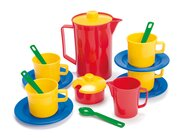 dantoy® Sandspielzeug, Kaffeeservice im Netz, 17 Teile