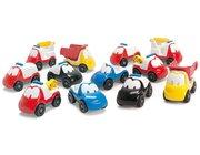 dantoy Sandspielzeug, Fun Cars, 12er Set