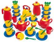 dantoy Sandspielzeug, Kaffee- und Teeservice für 12 Kinder, 45 Teile