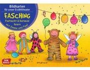 Kamishibai Bildkartenset - Fasching, Fastnacht & Karneval feiern mit Emma und Paul,  ab 1 Jahr