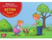Kamishibai Bildkartenset - Ostern feiern mit Emma und Paul, ab 1 Jahr