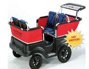 Winther® E-Turtle Kinderbus Basic für 4 Kinder