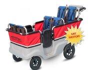 Winther® E-Turtle Kinderbus Basic für 6 Kinder