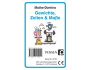 Mathe-Domino: Gewichte, Zeiten & Maße, Kartenspiel, 3. und 4. Klasse