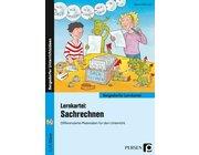Lernkartei: Sachrechnen, Buch inkl. CD, 2. und 3. Klasse