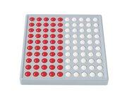 ABACO 100 - Modell B 5/5 Kugeln (rot/weiß), Zähl- und Rechenrahmen, 6-9 Jahre