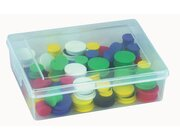 Kleinteilebox mit Deckel (4 Stück)