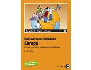 Basiswissen Erdkunde: Europa, Kopiervorlagen inkl. CD, 5.-9. Klasse