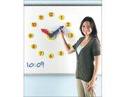 Magnetuhr für die Tafel mit Zeigerwerk