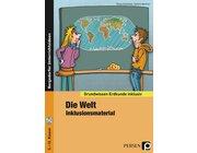 Die Welt - Inklusionsmaterial Erdkunde, Buch inkl. CD, 5.-10. Klasse