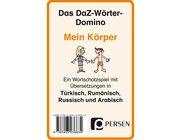 Das DaZ-Wörter-Domino: Mein Körper, Kartenspiel, 1.-4. Klasse