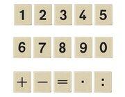 Magnetische Zahlenblocks, 50 Teile