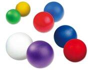 Softball, beschichtet, rot, 16 cm, 100g