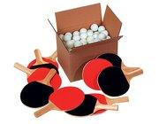 Tischtennis-Gruppenset, 154 Teile für 10 Schüler