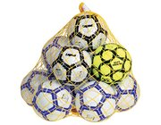 Ball-Set Fußball komplett mit Netz 12 Teile