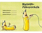 Bleistift-Führerschein - Klassensatz Führerscheine, Vorschule/1. Klasse