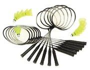Badminton Schulset Alu-Line 12 Schläger
