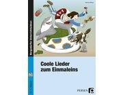 Coole Lieder zum Einmaleins, Buch inkl. Audio-CD, 2.-4. Klasse