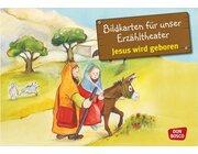 Kamishibai Bildkartenset - Jesus wird geboren, 3-8 Jahre