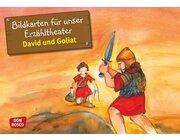 Kamishibai Bildkartenset - David und Goliat, 3-8 Jahre