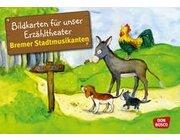 Kamishibai Bildkartenset - Die Bremer Stadtmusikanten