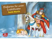 Kamishibai Bildkartenset - Sankt Martin, 3-10 Jahre