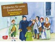 Kamishibai Bildkartenset - Die Geschichte von Martin Luther, 4-8 Jahre
