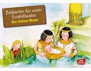 Kamishibai Bildkartenset - Der kleine Mose, 3-8 Jahre