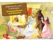 Kamishibai Bildkartenset - Schneeweißchen und Rosenrot, 5-8 Jahre
