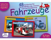 Fahrzeuge, 48 Fotokarten A5, 1-7 Jahre
