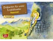 Kamishibai Bildkartenset - Rapunzel, 3-8 Jahre