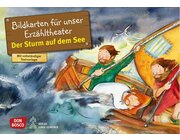 Der Sturm auf dem See, Kamishibai Bildkartenset, 3-8 Jahre