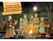 Kamishibai Bildkartenset - Franziskus und die erste Weihnachtskrippe, 3-8 Jahre