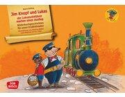 Kamishibai Bildkartenset - Jim Knopf und Lukas der Lokomotivführer machen einen Ausflug, ab 3 Jahre