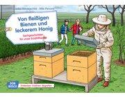 Kamishibai Bildkartenset - Von fleißigen Bienen und leckerem Honig, ab 4 Jahre