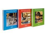 Montessori-Materialbücher 1-3
