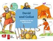 Erzählschiene Spielfiguren - David und Goliat, ab 2 Jahre
