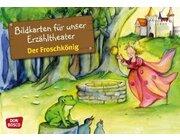 Kamishibai Bildkartenset - Der Froschkönig, ab 3 Jahre