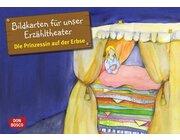 Kamishibai Bildkartenset - Die Prinzessin auf der Erbse, ab 3 Jahren