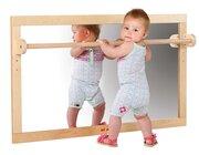 Infant Toddler Spiegel mit Holzstange 127 x 69 cm