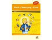 Musik - Bewegung - Kunst, 1.-4. Klasse, Heft inkl. CD