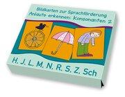 Bildkarten zur Sprachförderung Anlaute erkennen: Konsonanten 2