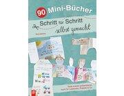 90 Mini-Bücher Schritt für Schritt selbst gemacht