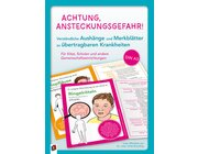 Achtung, Ansteckungsgefahr!, Kartensatz, Kita/1.-4. Klasse