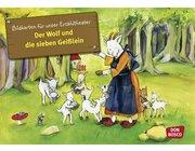 Kamishibai Bildkartenset - Der Wolf und die Sieben Geisslein
