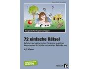 72 einfache Rätsel, Kopiervorlagen, 5.-9. Klasse