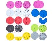Bruchrechenkreise für bewegten Unterricht, ab 8 Jahre