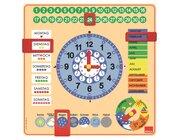 Kalender-Uhr (Goula D51309) *befindet sich im Nachdruck